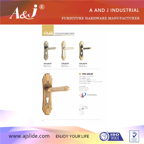 New design zinc alloy cabinet handles