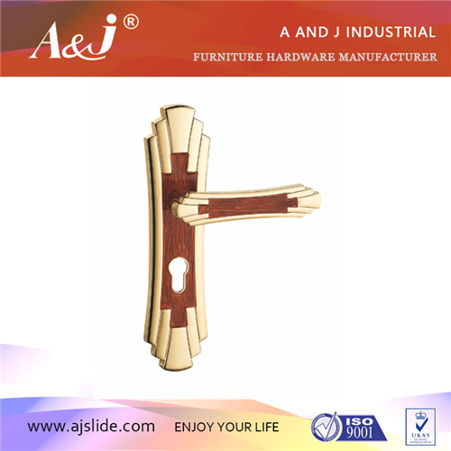aluminium door handle mortise lock