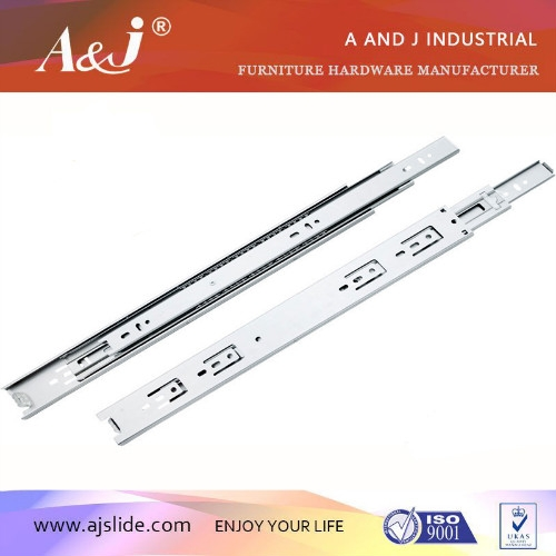 width 42mm telescopic furniture ball bearing drawer slide,drawer channel