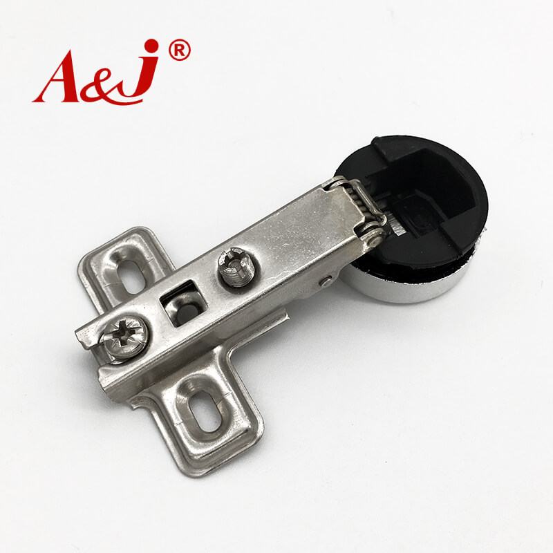 Mini plastic head glass kitchen door hinges