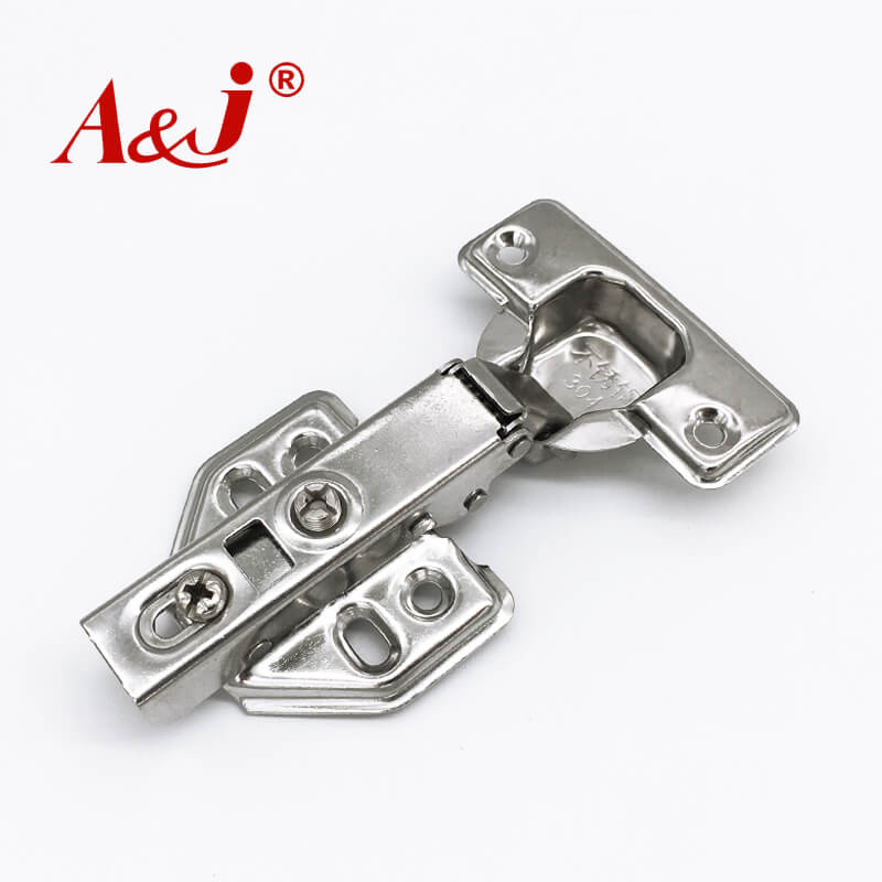 Stainless steel hydraulic kitchen cabinet hinges